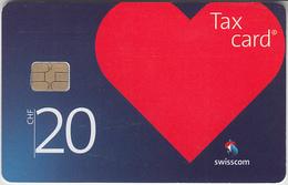 SWITZERLAND - PHONE CARD - TAXCARD SUISSE * NEW ***  SWISSCOM CORPORATE ICONS - 20 Chf  *** - Switzerland