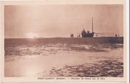 CPA -  FORT MAHON Coucher De Soleil Sur La Mer - Fort Mahon