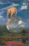 Telecarte WOODLANDS - ELEPHANT - Jungle