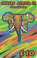 Telecarte AFRICA - ELEPHANT - Jungle