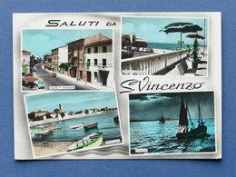 Cartolina S. Vincenzo - Varie Vedute - 1965 - Livorno