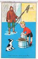 HUMOUR   ESCARGOTS    PECHEUR  M D  N°951  BE       1Y347 - Humor