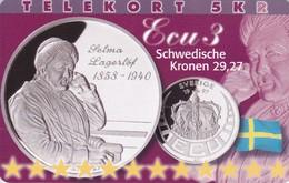 Denmark, P 251, Ecu - Sweden, Mint, Only 800 Issued, 2 Scans.  Please Read - Denmark