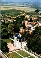 72 PONCE-SUR-LE-LOIR  VUE AERIENNE LE CHATEAU XVIe SIECLE ESCALIER-LABYRINTHE PIGEONNIER - Other Municipalities