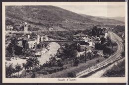 SLOVENIA - FRIULI -VENEZIA-GIULIA GORIZIA CANALE D'ISONZO CARTOLINA 1938 - Slovénie