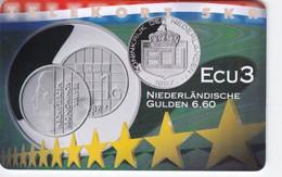 Denmark, P 262, Ecu - Netherlands, Mint, Only 600 Issued, 2 Scans.  Please Read - Denmark