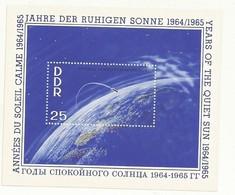 DDR  BLOC NEUF ANNEE DU SOLEIL CALME  1964/1965 - [6] République Démocratique
