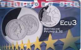 Denmark, P 266, Ecu - England, Mint, Only 600 Issued, 2 Scans.  Please Read - Denmark