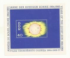 DDR  BLOC NEUF ANNEES DU SOLEIL CALME  1964/1965 - [6] République Démocratique