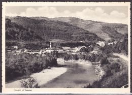 SLOVENIA - FRIULI -VENEZIA-GIULIA GORIZIA CANALE D'ISONZO CARTOLINA 1939 ED.IVANCICH - Slovénie