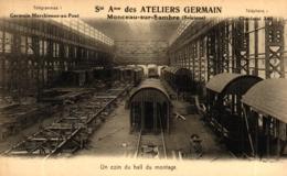 MONCEAU-SUR-SAMBRE, Ateliers Germain - Charleroi