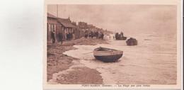 CPA - FORT MAHON La Plage Par Gros Temps - Fort Mahon