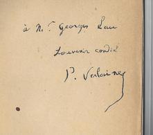 PAUL VERLAINE (1844 - 1896) ENVOI AUTOGRAPHE ORIGINAL AUTOGRAPH PARALLELEMENT 1894 /FREE SHIPPING REGISTERED - Autographs
