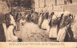 ¤¤  -   ISRAËL   -   JERUSALEM   -  Muraille De La Lamentation De Juifs  -  Judaïca     -   ¤¤ - Israel