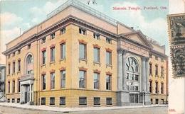 ¤¤  -   ETAT-UNIS   -  OREGON  -  PORTLAND   -  Masonic Temple  -  Temple Maçonnique  -  Franc-Maçonnerie      -   ¤¤ - Portland