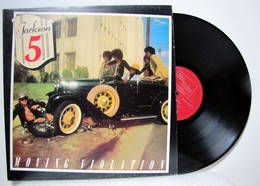 The Jackson Five - LP 33tr : Moving Violation  (Pressage : FR - 1975) - Soul - R&B