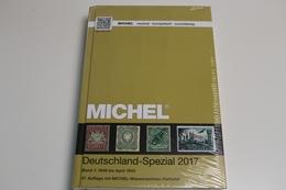 Michel, Deutschland-Spezial 2017, Band 1: 1849 Bis April 1945, 47. Auflage - Germany