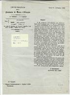 Garibaldi Dittatore, Pagamento Delle Tasse Dovute, Per L'Indipendenza D'Italia. Lecce 17 Settembre 1860 - Decreti & Leggi