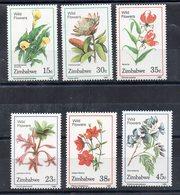 ZIMBABWE - FLEURS - FLOWERS - Série Complète - 1989 - - Zimbabwe (1980-...)