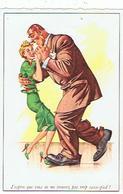J' ESPERE QUE VOUS NE ME TROUVEZ PAS TROP CASSE-PIED?  PIN UP 1961 - Humor