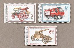 Tschechien - 3 W - Postfr. - Feuerwehr Technik Auto , Fire Truck, Pompiers - Feuerwehr