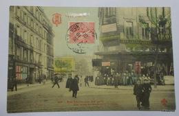 Tout PARIS-Rue Oberkamp-Vue Prise Du Boulevard Voltaire-Carte Couleur - Arrondissement: 11