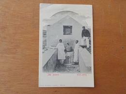 3381) Afrique Africa Portuguesa Angola Ambriz Fonte Publica Ed. Osorio & Seabra - Angola