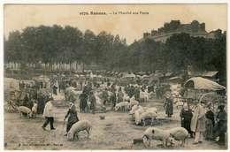1673-35 RENNES - Le Marché Aux Porcs - Foires