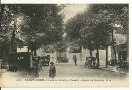 93 - SAINT OUEN / AVENUE DU CIMETIERE PARISIEN - ENTREE DU CIMETIERE - Saint Ouen