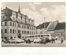 ALLEMAGNE )) NAUMBURG     WILHELM PIECK PLATZ MIT RATHAUS ** CPSM GRAND FORMAT - Naumburg (Saale)