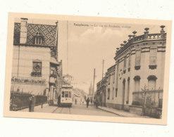 BELGIQUE )) TEMPLEUVE    La Rue De Roubaix,   Station / Tramway / Edit Fremeau - Belgique