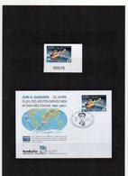 Deutschland, Privatpost, Nordkurier, 2011, Marke (sk) Und FDC, 50 J. Flug Juri Gagarin - [7] Federal Republic