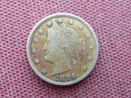 ETATS UNIS Monnaie Five Cent 1896 - Émissions Fédérales