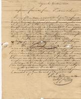 1831 LETTRE COMMERCE NEGOCE PEAUX PEAUSSERIE  FOURCADE FRERES Bayonne Et St Marie D'Oloron VOIR SCANS+HISTORIQUE - 1800 – 1899