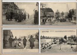 GROS LOT DE 48 C.P.A. SUR LA GRANDE GUERRE 1914 - 15. TOUTES SCANNEES - Oorlog 1914-18