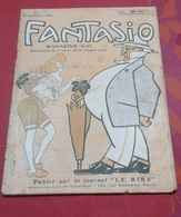 Revue Satirique FANTASIO N°4 15 Septembre 1906 Illustration Beaury Saurel, Léonide Leblanc,Jeanne Delys,Marcelle Yrven - 1900 - 1949