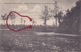 02 - Sissonne Friedhof Cimetière  Carte Allemande - Sissonne