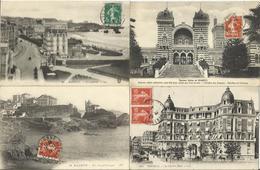 LOT DE 149 CARTES POSTALES ANCIENNES DE BIARRITZ (64). - Biarritz