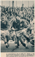 RUGBY : PHOTO, AFRIQUE DU SUD - FRANCE, ALFRED ROQUES ET AMEDEE DOMENECH, COUPURE REVUE (1961) - Rugby