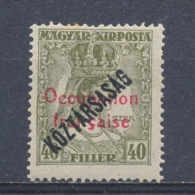 Hongarije/Hungary/Hongrie/Ungarn Arad Fr. Occ. 1919 Mi: 42 Yt: 35 (Ongebr/MH/Neuf Avec Ch/Ungebr/*)(3852) - Hongarije