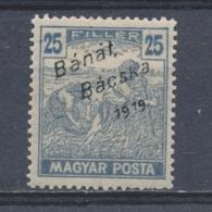 Hongarije/Hungary/Hongrie/Ungarn Bánát, Bácska 1919 Mi: 41 Yt: 39 (Ongebr/MH/Neuf Avec Ch/Ungebr/*)(3858) - Unused Stamps