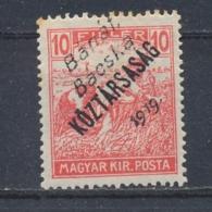 Hongarije/Hungary/Hongrie/Ungarn Bánát, Bácska 1919 Mi: 28 Yt: 27 (Ongebr/MH/Neuf Avec Ch/Ungebr/*)(3862) - Hongarije