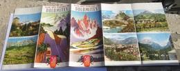 Grande Route Panoramique Des Dolomites 1959 - Dépliants Touristiques