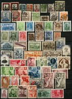 RUSSLAND 1924-61, KLEINE SAMMLUNG GESTEMPELT AB NR. 239BII, MI. Ca. 500,- - Collections