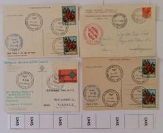 LOTTO 4 ANNULLI SPECIALI ITALIA (LX45 - 1946-.. République