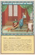 CARTOLINA NON VIAGGIATA ED.RADIOMARELLI VII MEDIOEVO (LX195 - Histoire