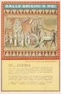 CARTOLINA NON VIAGGIATA ED.RADIOMARELLI III ASSIRIA (LX206 - Storia
