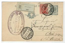 Cartolina Commerciale Raccomandata - Intero Postale - Chiavari - Calzoleria Triestina Di Sannazzari Pietro - Genova