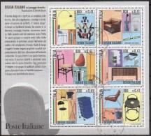"""PIA  -  ITALIE  -  2000 :  IL """"Design Italiano""""  -     (Yv   Bf 26 ) - 6. 1946-.. Repubblica"""