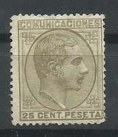 ESPAÑA EDIFIL  194 MH  * - 1875-1882 Reino: Alfonso XII